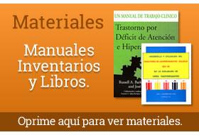 Instrumentos, Manuales e Inventarios
